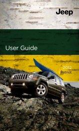 2012 Jeep Patriot User Guide - AMERICAN AUTO CLUB