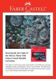 Metallic Gel Sticks Project Ideas - Faber-Castell