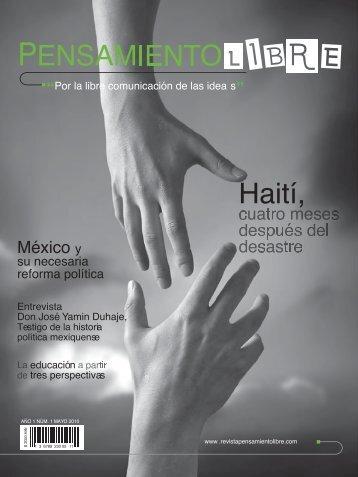 Haití, - Revista Pensamiento Libre