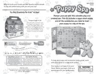 Pamper your pet with this adorable play and pretend ... - Faber-Castell