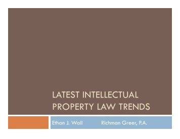 View Presentation - Richman Greer, P.A.