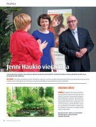 Jenni Haukio vierailulla - Pelastakaa Lapset ry
