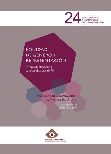 Equidad de género y representación. La regla de alternancia para ...