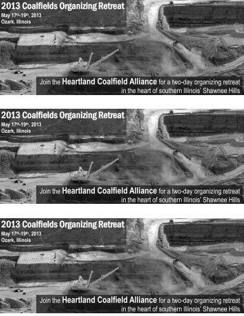 flier - Heartland Coalfield Alliance