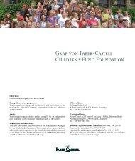 Graf von Faber-Castell Children's Fund Foundation