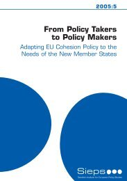 Rapport 5-2005 - EUROPEUM Institute for European Policy