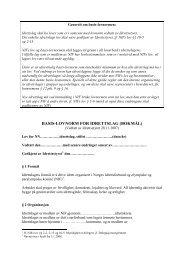 Basis-lovnorm for idrettslag - Norges Amerikanske Idretters Forbund