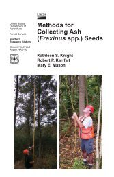 Methods for Collecting Ash - National Seed Laboratory