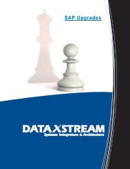 Download our Upgrade Brochure - DataXstream