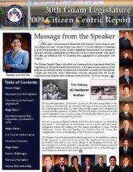 2009 - Guam Legislature