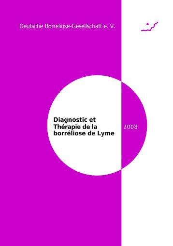Diagnostic et Thérapie de la borréliose de Lyme - Lyme Ethique