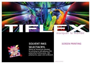 Download our product file (PDF, 377 Ko) - Tiflex