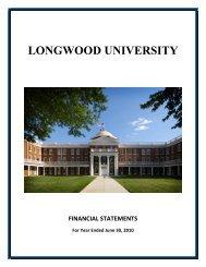 2010 - Virginia Auditor of Public Accounts - Commonwealth of Virginia