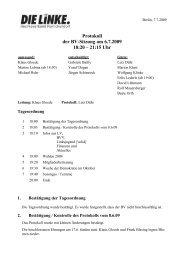 Protokoll der BV-Sitzung vom 6.7.2009 (pdf) - Reinickendorf