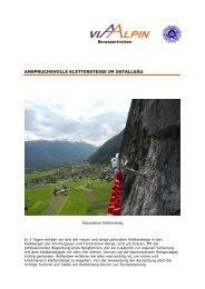 anspruchsvolle klettersteige im ostallgäu - Via-Alpin.de