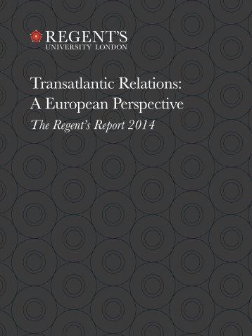 TransatlanticRelations- AEuropeanPerspective