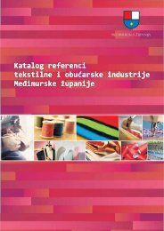 Katalog referenci tekstilne i obućarske industrije Međimurske ...