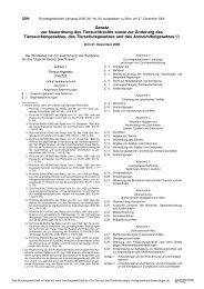 Gesetz zur Neuordnung des Tierzuchtrechts sowie zur Änderung ...