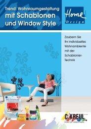 Home Design XXL-Schablone - C. Kreul