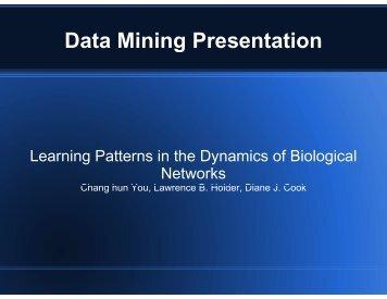 Data Mining Data Mining Presentation
