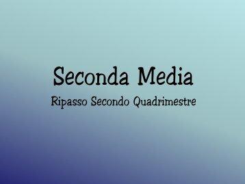 Seconda Media - Benvenuti nel sito dei ragazzi della Scuola Media!