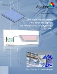 Computational Mechanics Research and Support for Aerodynamics ...