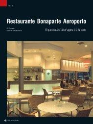 Restaurante Bonaparte Aeroporto - Lume Arquitetura