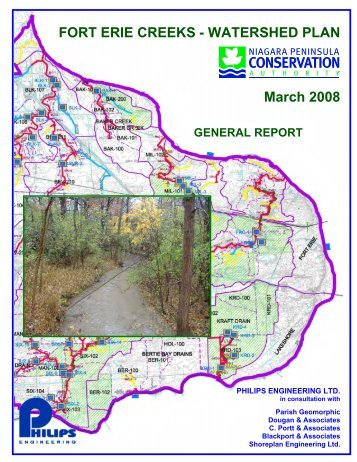 Fort Erie Creeks Watershed Plan - Niagara Peninsula Conservation ...