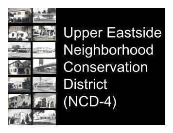NCD-4 - City of Miami: Historic Preservation