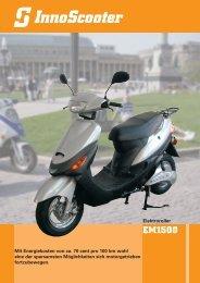 EM1500 - InnoScooter