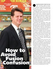 How to Avoid Fusion Confusion How to Avoid Fusion Confusion