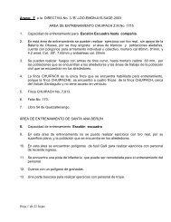 Hoja 1 de 22 hojas Anexo: F a la DIRECTIVA No. 3 - Ministerio de la ...
