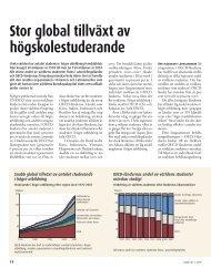 Stor global tillväxt av högskolestuderande (pdf)