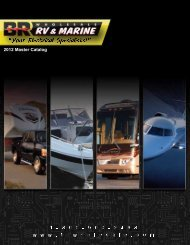 Introduction & Policies - BR Wholesale RV & Marine