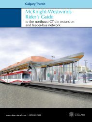 McKnight-Westwinds Rider's Guide - Calgary Transit