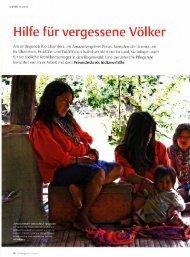 Hilfe fur vergessene Volker - Freundeskreis Indianerhilfe eV