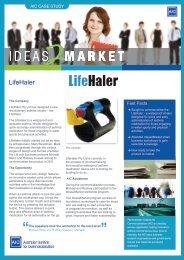 LifeHaler Case Study - The Australian Institute for Commercialisation