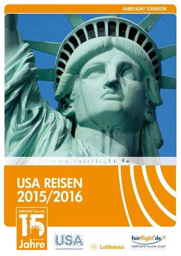 USA Reisen 2015/2016
