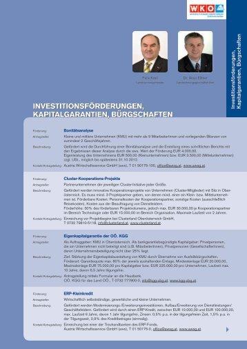 Investition und Beratung