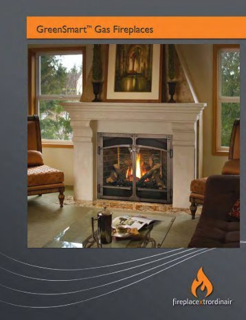 FPX Gas Fireplace Brochure - The Firebird