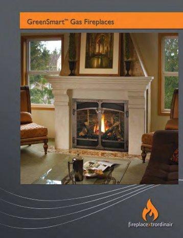 FPX Gas Fireplace Brochure - The Firebird