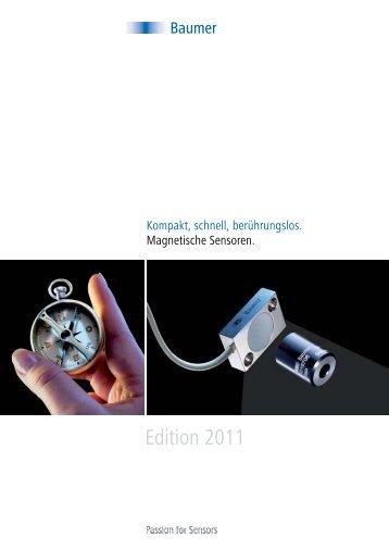 Magnetische Winkelsensoren - Baumer