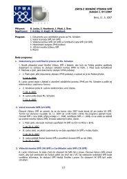Zápis z jednání výboru č. 7 ze dne 11.06.2007 - IPMA