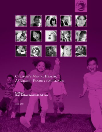 Children's Mental Health: An Urgent Priroity for - Illinois State Board ...
