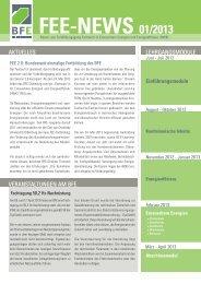 FEE-NEWS 01/2013 - BIBB / Berufsbildung für nachhaltige ...