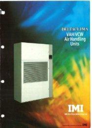 VAHNCW Air Handling - Heronhill Air Conditioning Ltd