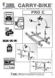 Istruzioni di montaggio - Fiamma