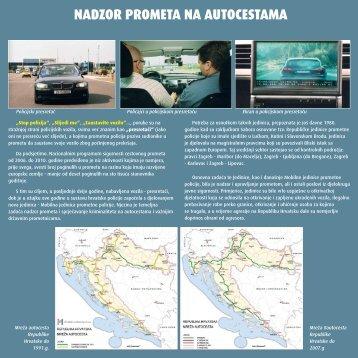 Nadzor prometa na autocestama - Ministarstvo unutarnjih poslova RH