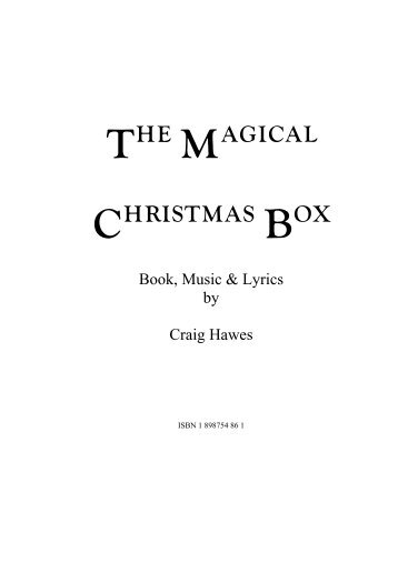 The Magical Christmas Box - Sample Script.pdf - Musicline