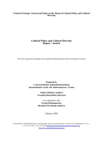 Applying diversity and multicultural guidelines
